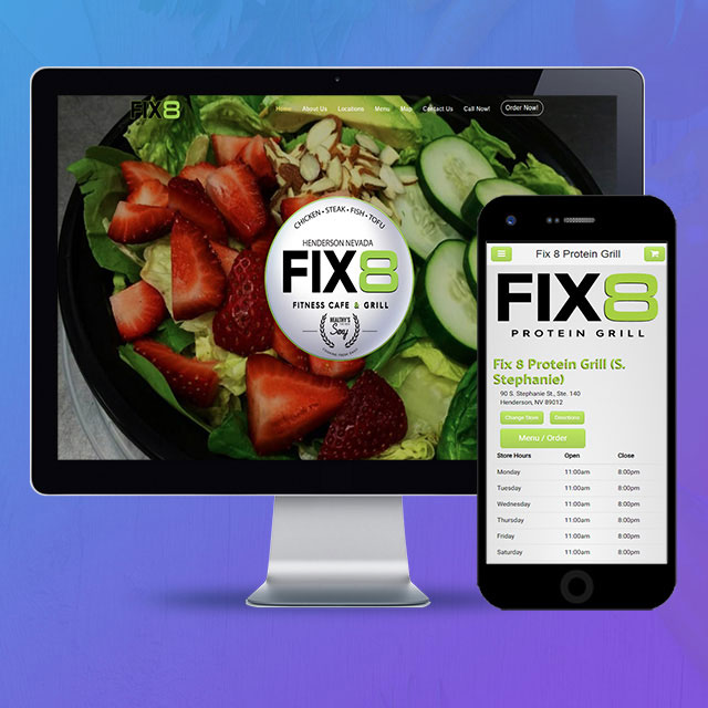 Fix 8 Fitness Cafe