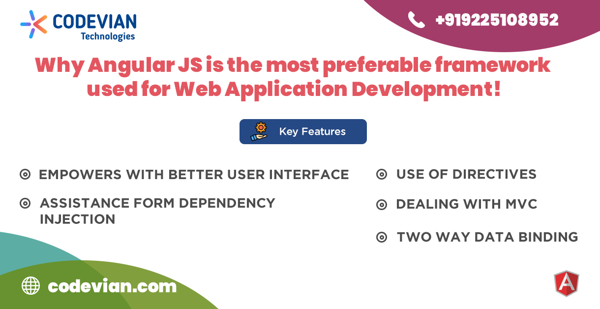 Which JavaScript is best for applications: AngularJS