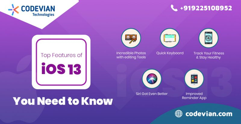 Top iOS 13 Features You Need to Know